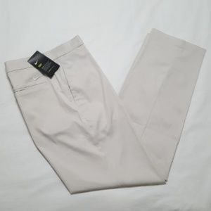 Nike Men's Flat Front Flex Golf Pants beige 36x32